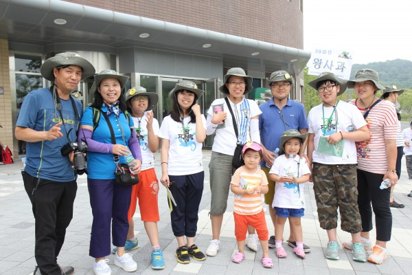 지구사랑탐사대 가족캠프에 참여한